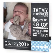 geboortekaartjes met foto zelf maken